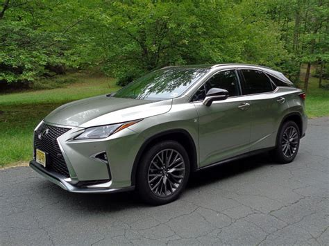 2017 Lexus Rx 350 F Sport Road Test & Review