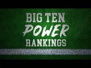 Big Ten Power Rankings Preseason - YouTube