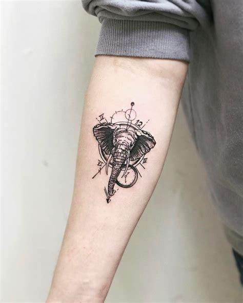 elephant tattoo meaning  design ideas  elephant