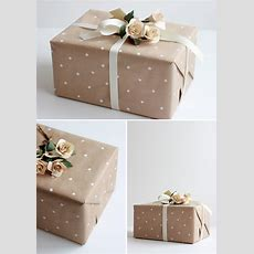Wedding Gift Wrap Ideas Lovelustered