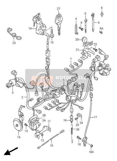 Suzuki Gsx Wiring Harness Msp