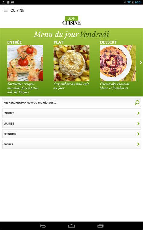 application recette cuisine cuisine 45 000 recettes applications android sur