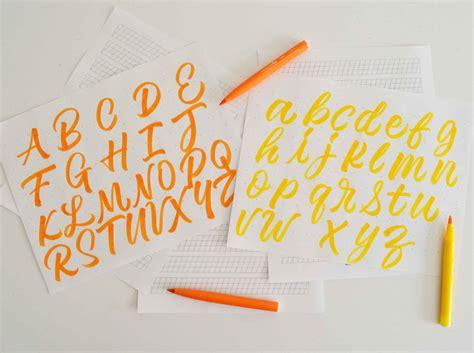 brush lettering  ultimate guide