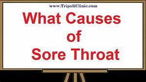 What Causes Of Sore Throat
