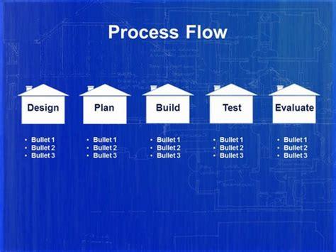 home blueprint powerpoint template