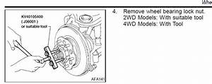 How Do You Remove Front 4wd Hub From 2002 Frontier To