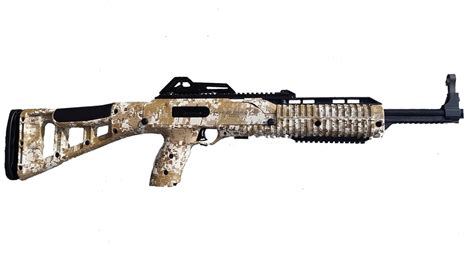 Hi Point 995TS 9mm Carbine with Desert Digital Camo Finish ...