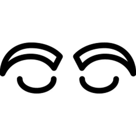 eyebrow icon  iconset iconsmind