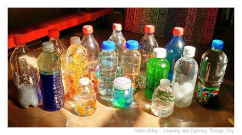 learning  exploring  play diy sensory bottles