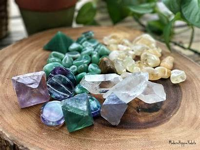 Crystals Productivity Workplace Crystal
