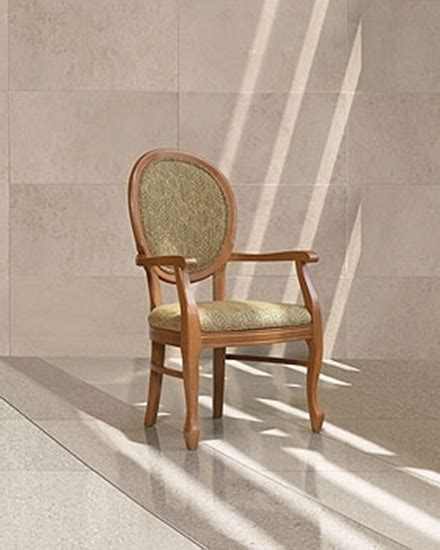 gc4161 wood waiting room chair with arms
