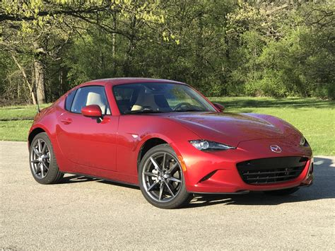mazda coupe 2017 mazda mx 5 miata rf first drive review the miata