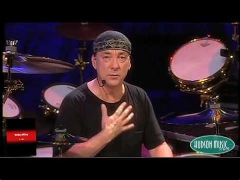 neil peart  floating snare youtube