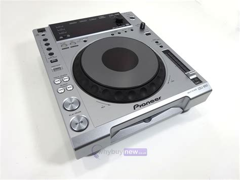 Pioneer Cdj850 Silver Dj Cd Player Deck Whybuynew