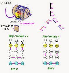 electroclub conexi 243 n de motores trifasicos de 9 y 12 puntas combinaci 243 n de motores en 2019