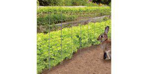 the 2 best rabbit fences for gardens rabbit guard fence and yardgard rabbit fence rabbit remover