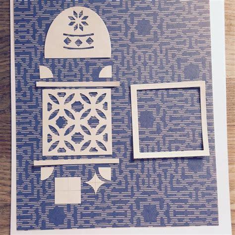 morocco card felt christmas