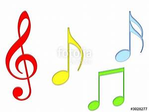 """""""colored music notes"""" Stock photo and royalty-free images ..."""