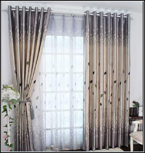 Deko Ideen Gardinen Wohnzimmer  wohnzimmer  House und