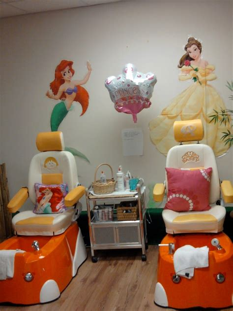 my princess spa chair find us on tropical nails