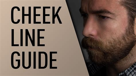 cheek beard line template beard cheek line guide jeff buoncristiano youtube