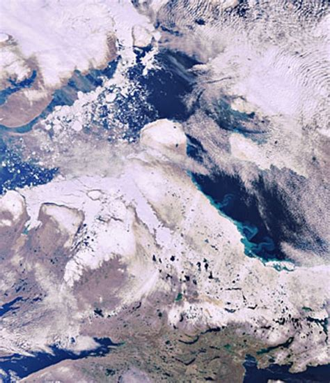 Earth From Space Arctic Archipelago Observing The Earth