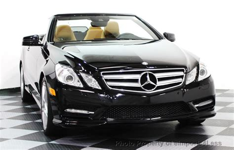 They average 18.4 combined miles per gallon, with the latest 2016 e550 4matic above average at 21 combined mpg. 2013 Used Mercedes-Benz CERTIFIED E550 V8 AMG SPORT CONVERTIBLE P2 NAVI at eimports4Less Serving ...