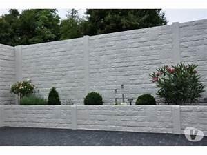 Cloture Beton Imitation Bois : mur b ton volont clasf ~ Dailycaller-alerts.com Idées de Décoration