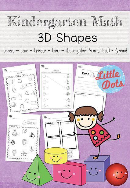 shapes worksheets set suitable  kindergarten level