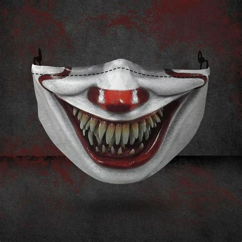 shipping pennywise halloween  face mask horror