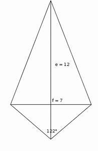 Fehlende Seite Dreieck Berechnen : diagonale rhombus mit diagonalen e 12 cm und f 7 cm ~ Themetempest.com Abrechnung