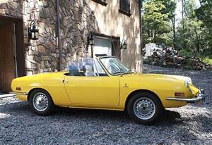 Never This Nice  1973 Fiat 850 Spider