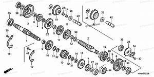 Honda Atv 2002 Oem Parts Diagram For Transmission