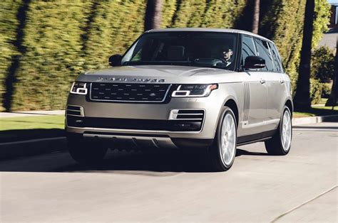 2018 Land Rover Range Rover by Land Rover Shows Updated 2018 Range Rover