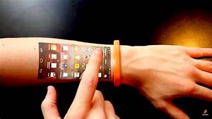 Wrist Mobile-cicret Bracelet