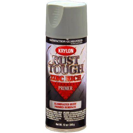 krylon 9240 rust tough enamel spray paint primer zinc 12 ounce aerosol walmart
