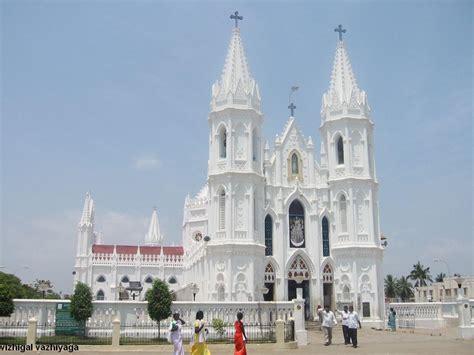 Jesus On The Cross Wallpaper Velankanni Church Tamilnadu Tamil Nadu Tourism
