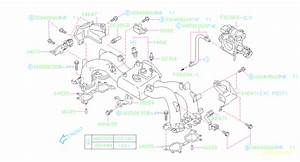 1999 Subaru Legacy Vacuum Line Adapter