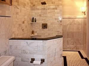 Bahtroom Impressive Wall Lamp Installed In Walk In Shower ...