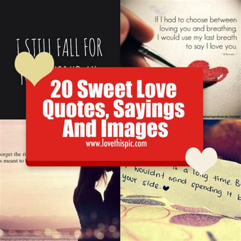 sweet love quotes sayings  images
