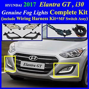 Fog Light Lamp Complete Kit   Wiring Harness Kit For Hyundai Kia Vehicle  2017 Hyundai Elantra