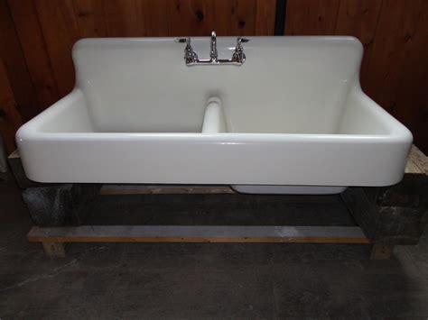 antique cast iron kitchen sink faucets antique cast iron farm farmhouse kitchen sink w apron