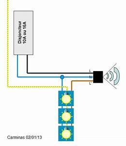 Schema Detecteur De Mouvement : questions r ponses lectricit installation d tecteur de ~ Melissatoandfro.com Idées de Décoration