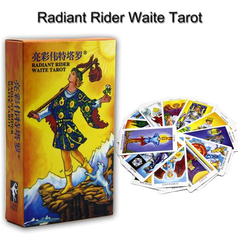 We did not find results for: 78pcs Radiant Rider Waite Tarot Cards Destiny Destiny Tarot Fortune Telling Card | eBay