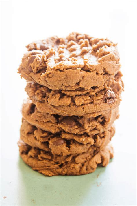 Double Chocolate Peanut Butter Cookies  A Dash Of Sanity