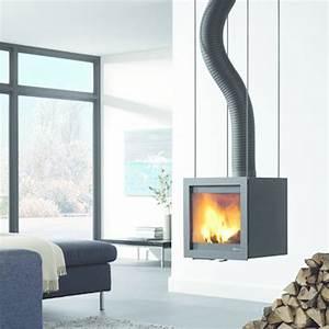 Poele Suspendu Design : po le chemin e suspendu conduit flexible bora flex fonte flamme ~ Melissatoandfro.com Idées de Décoration
