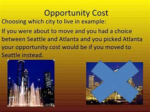 Data Examples Opportunity Cost