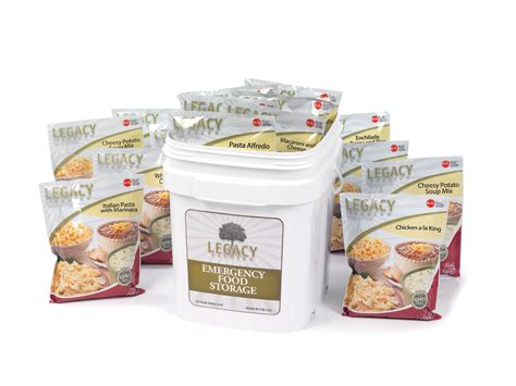 premium cuisines legacy premium food 183 serving mega sle pack survival