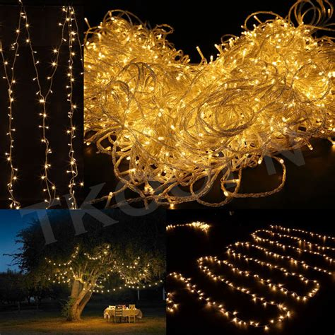 200 1000 led fairy string light wedding new year party