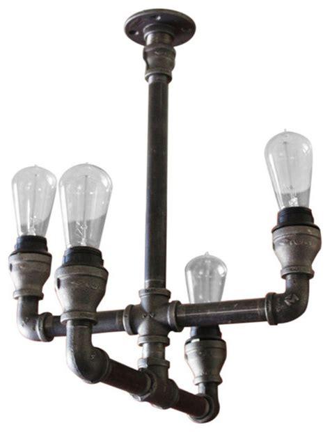 galvanized pipe lighting steunk pipe industrial light industrial chandeliers